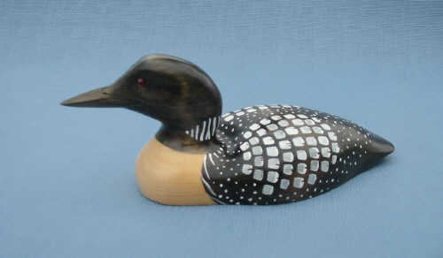 Miniature Common Loon Decoy